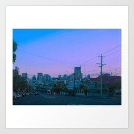 City of dreams Art Print