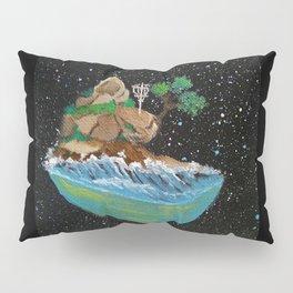 Seaside Cliff Discing Pillow Sham