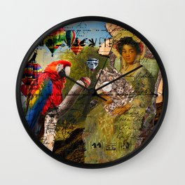 THE KEEPER OF THE ENGINE II Wall Clock