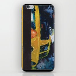 Subway Card NYC Taxi Painting iPhone Skin