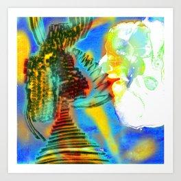 Chattering of Mr.S. fantasia Art Print
