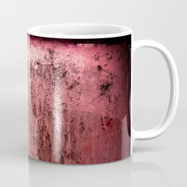 Old red window at night Coffee Mug