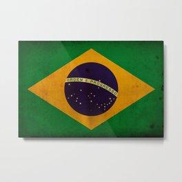 Brasil Metal Print