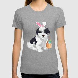 Easter Havanese Dog Cute design T-shirt
