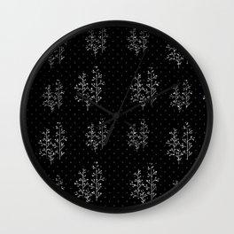 Miss Fall Wall Clock