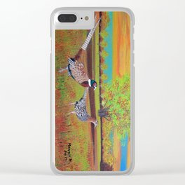 Country side (North Dakota) Clear iPhone Case