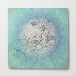 Serenity Blue Metal Print