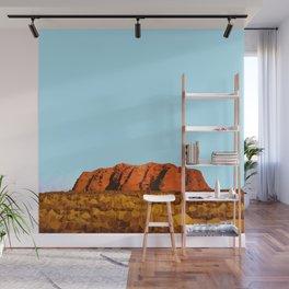 uluru polygon Wall Mural