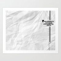 helvetica Art Prints featuring Helvetica by PB Ma-alat