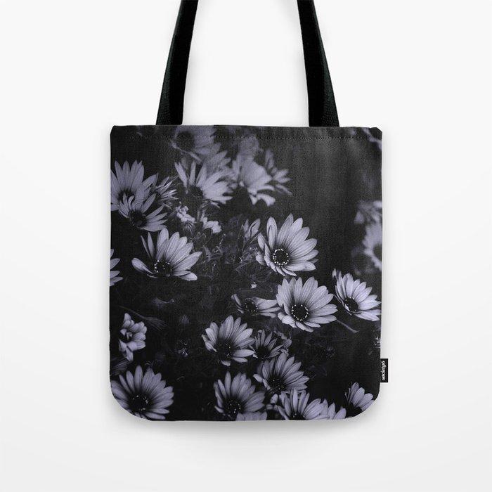 Totebag motif photographique fleurs