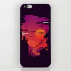RoofTops iPhone & iPod Skin