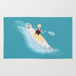 Whitewater Willy Rug