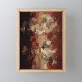 Earthly Eruption Framed Mini Art Print