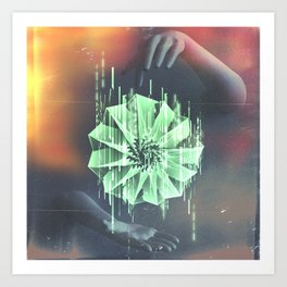 Hands Create Everything Art Print