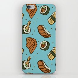 SUSHI PARTY iPhone Skin