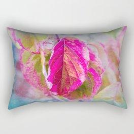 PINK LEAF Rectangular Pillow