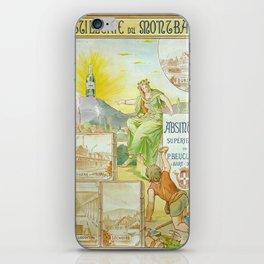 Vintage poster - Absinthe Beucler iPhone Skin