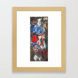 女性着物着て (woman wearing kimono) Framed Art Print