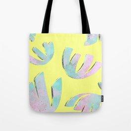 flora pattern no.1 / bright yellow Tote Bag