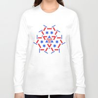 patriotic Long Sleeve T-shirts featuring Patriotic by Robin Curtiss