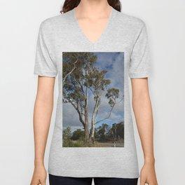Australian Gum Tree Unisex V-Neck