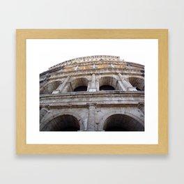 Wall Coliseum Framed Art Print