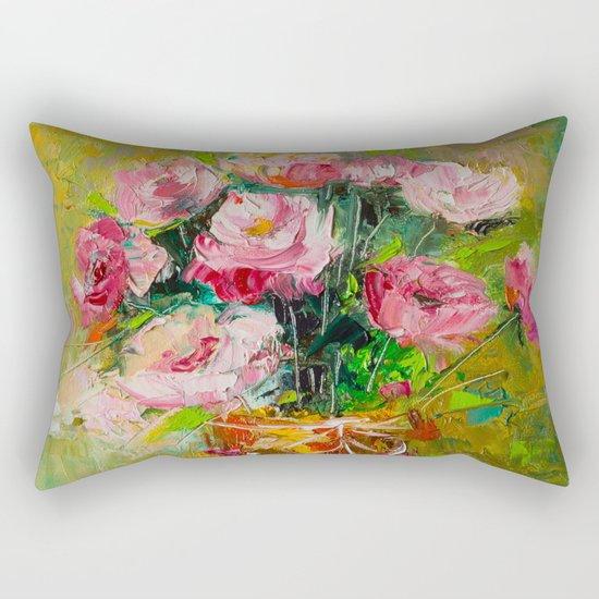 magic roses Rectangular Pillow