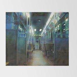 Ghost Train Throw Blanket