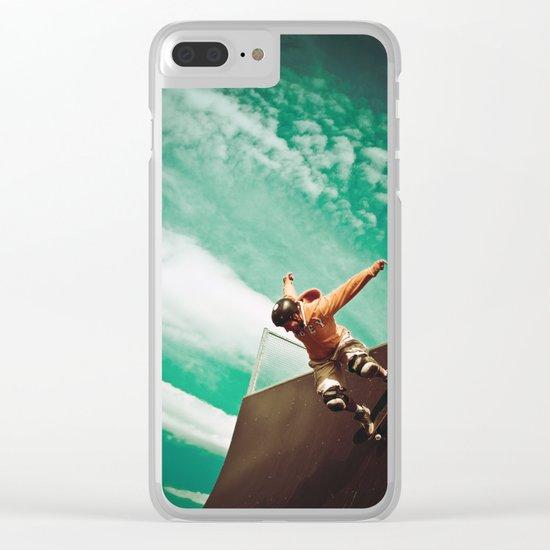 Skate 4 Clear iPhone Case