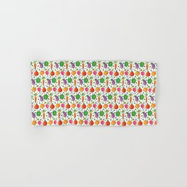 Vegetable Plot Vegetarian Gift Vegan Lovers Plant  Hand & Bath Towel