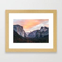 Yosemite Tunnel, USA #society6 #decor #buyart Framed Art Print