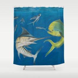 Food Chain Shower Curtain