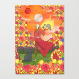 The Mother Canvas Print