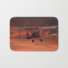 Two Seater Tigermoth Bath Mat
