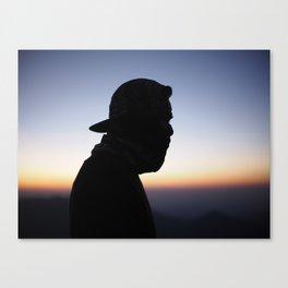Men mystery Canvas Print