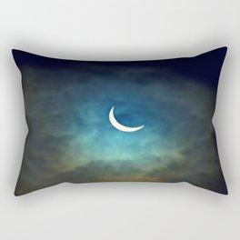 Solar Eclipse 1 Rectangular Pillow