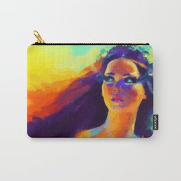 The Girl On Fire Carry-All Pouch