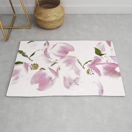 Dogwood Tree Flowers-pink Rug