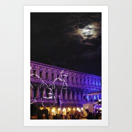Italy by night Art Print
