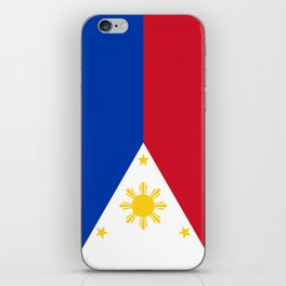 Republic of the Philippines national flag (50% of commission WILL go to help them recover) iPhone Skin