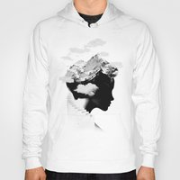ace Hoodies featuring It's a cloudy day by Robert Farkas