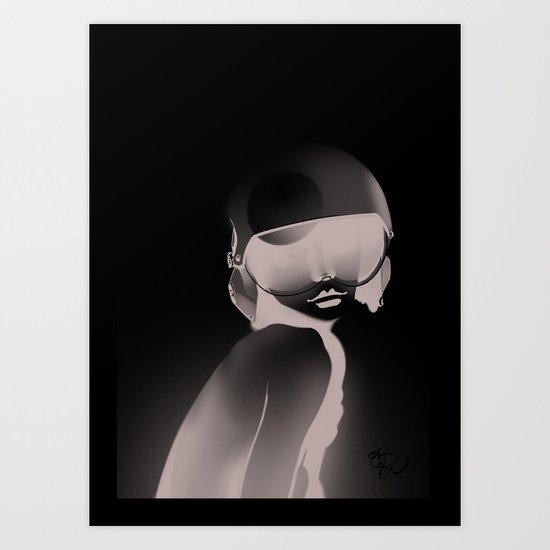 BnW11 Art Print