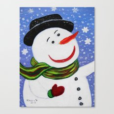 Christmas card 5 Canvas Print