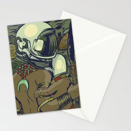 Galactic Tribe Stationery Cards