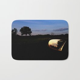 Sunset on Moody Bridge Road Bath Mat