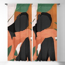 Tropical Girl 10 Blackout Curtain