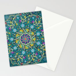 Turquoise swirl Stationery Cards