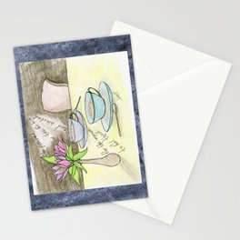 For Two Stationery Cards