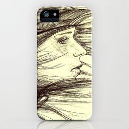 Swept Away iPhone Case