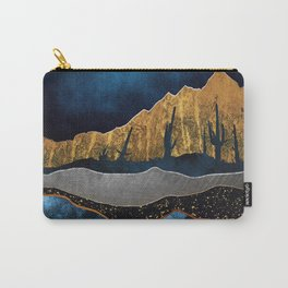 Midnight Desert Moon Carry-All Pouch